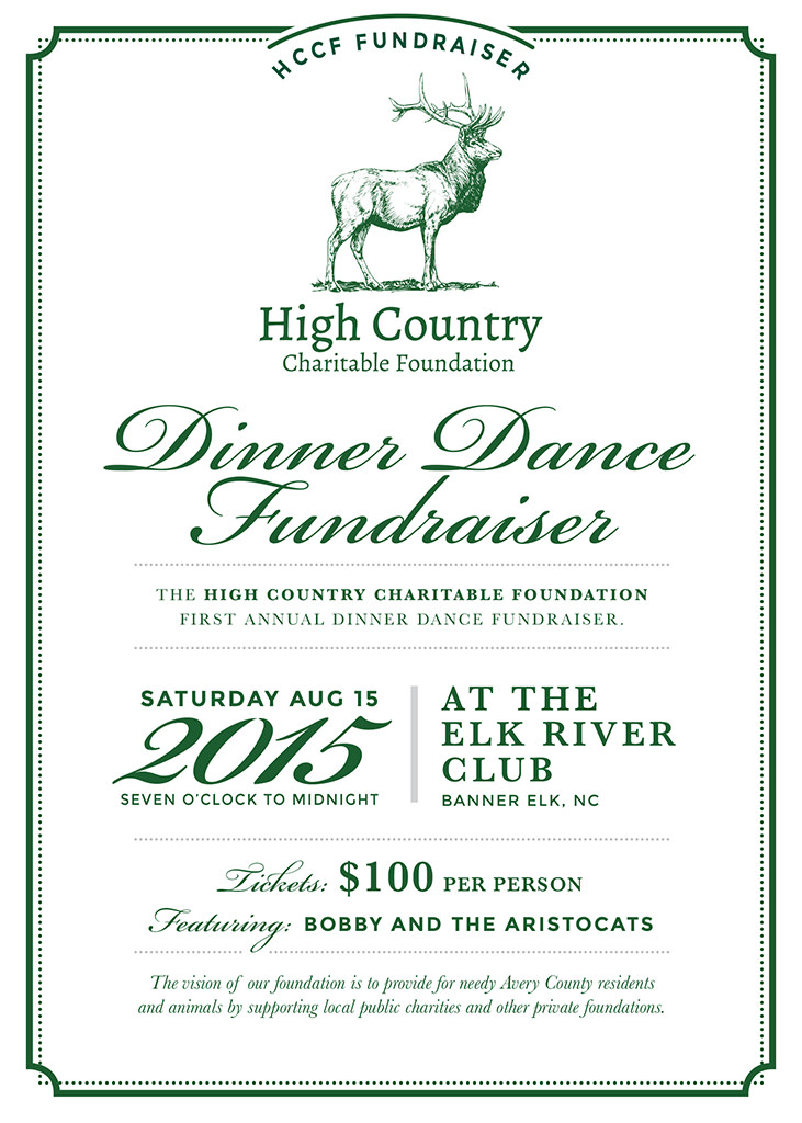 Dinner Dance Fundraiser  High Country Charitable Foundation